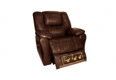 Freeland Leather Recliner Armchair