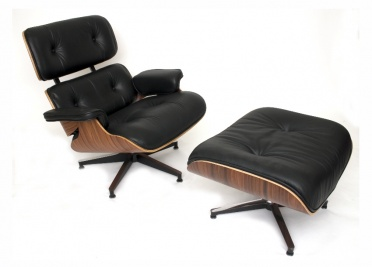 Eames Lounge Chair & Stool
