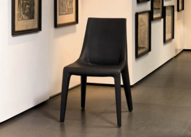 Bonaldo Tip Toe Leather Dining Chair _main_image