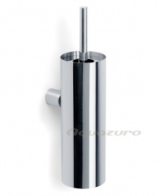 Duo polished wall mounted toilet brush