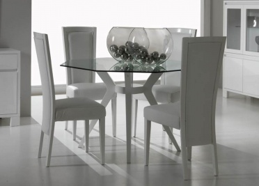 Firenze Glass Dining Table _main_image