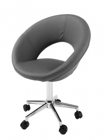 Retro office chair grey_main_image