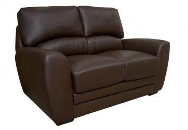 Elton Leather 2-Seater Sofa