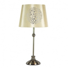 Classic Collection Laser Cut Floral Table Lamp_main_image