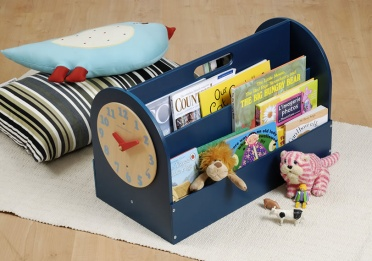 Tidy Books Box in Petrol Blue Finish_main_image
