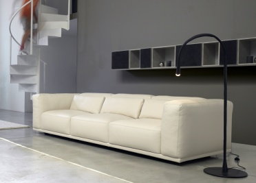 Abbraccio Leather Sofa