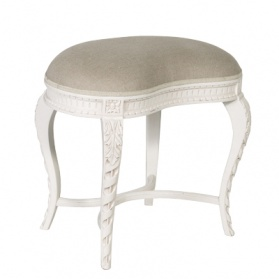 Chateau Carved Dressing Table Stool_main_image