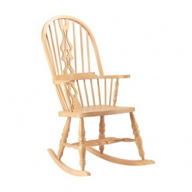 High Back Hoop Rocking Chair_main_image