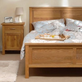 Brooklyn Oak Double Bed_main_image