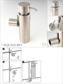 Blomus Duo wall mounted soap dispenser