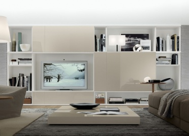Jesse Open Wall Unit Composition R54