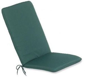 Cushion with Back - Green