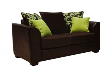 Clermont 2-Seater Leather Fabric Sofa