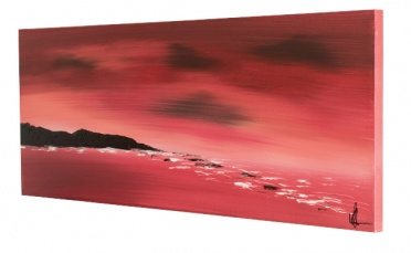 Red shore canvas