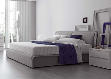 Stitch Upholstered Bed _main_image