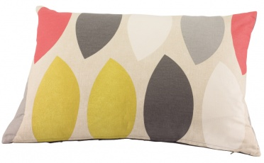 Leaf cushion rectangular