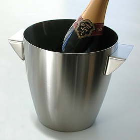 Zack Cius stainless steel champagne wine bucket_main_image