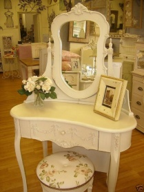 Bergere Dressing Table & Stool_main_image