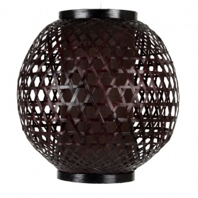 Wicker Lattice Ball Pendant