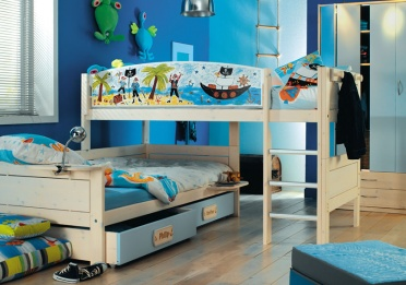 Pirate Corner Bunkbed Set