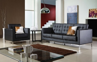Florence Knoll Style 3 Seat Sofa _main_image