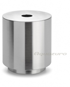 Cotton bud dispenser - stainless steel - Blomus PR