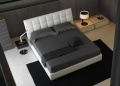 Mondrian Leather Bed