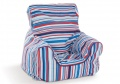 Sky Stripe Baby Bean Chair
