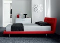 Drift Squares Upholstered Bed
