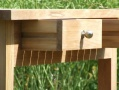Teak Trolley & Table Extension_image1