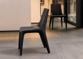 Bonaldo Tip Toe Leather Dining Chair _image2