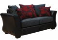 Osprey 2 seater Leather and Fabric Sofa