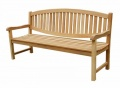 Oval Back Bench