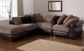 Java Leather Corner Sofa