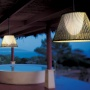 Romeo Outdoor Ceiling Light Woven 60cm Fluorescent_image1