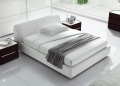 Strip Upholstered Bed