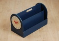 Tidy Books Box in Petrol Blue Finish_image1