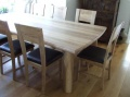 8 Seater Solid Oak Dining Set - The Faraway Set_image3