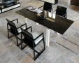 Lucido Extending Glass Dining Table _image1