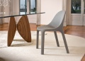 Bonaldo Velvet Leather Dining Chair