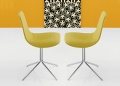 Bonaldo Lei Four Upholstered Dining Chair _main_image