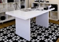 Perth White Dining Table
