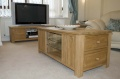 Nevada coffee table/tv unit with cd/dvd storage_image1